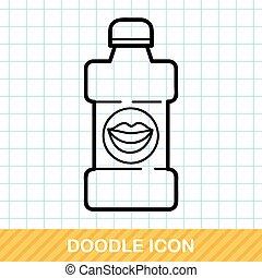 Mouthwash doodle