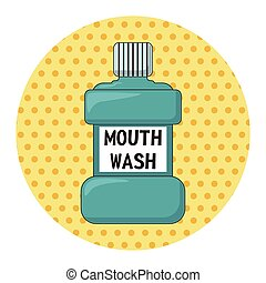 Mouthwash theme elements