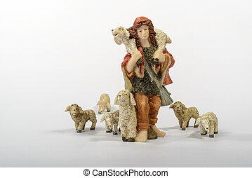 mouton, berger, sien