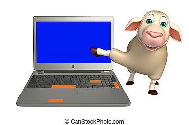 Mouton ordinateur portable dessin anim mouton - Mouton dessin anime ...