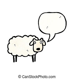 Ferme mouton dessin anim illustration vecteurs eps - Mouton dessin anime ...