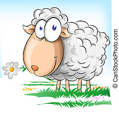 Mouton herbe dessin anim sommeils - Mouton dessin anime ...