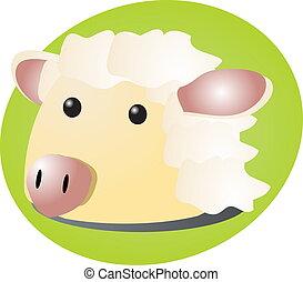 Animaux dessin anim bunny chien animaux mouton - Mouton dessin anime ...