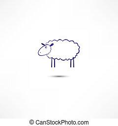 mouton, icône