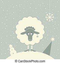 mouton, noël