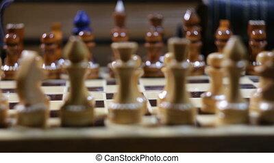 mouvement, échecs, pion