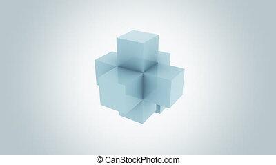 mouvement, alpha, pro, concepts., résumé, bleu, croissance, ...
