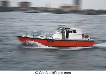 mouvement, bateau