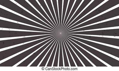 mouvement, boucle, tourner, seamless, parfait, spirale, résumé, fond, hypnotique