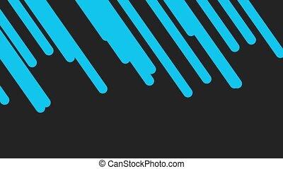 mouvement, fond, résumé, intro, bleu, géométrique, lignes