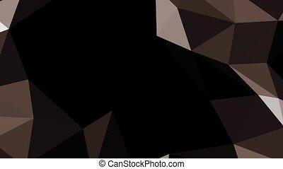 mouvement, hd, fond, géométrique, espace, formes, brun, noir