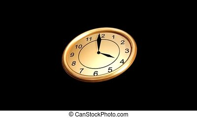 mouvement, horloge