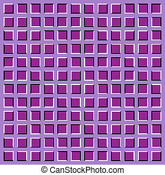 mouvement, illusion., apparent, optique
