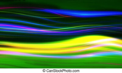 mouvement, incandescent, néon, futuriste, fond, résumé, ...