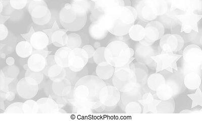 mouvement, noir, barbouillage, fond blanc, lumière, résumé