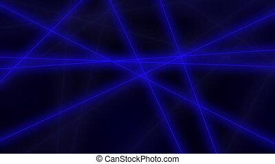 mouvement, résumé, bleu, boucle, crossings., agrafe, seamless, high-tech, lignes, arrière-plan., 4k