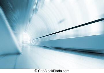 mouvement, résumé, long, couloir