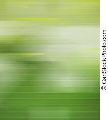 mouvement, vert, barbouillage