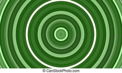 mouvement, vert, boucle, fond
