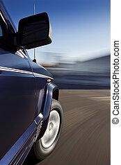 mouvement, voiture