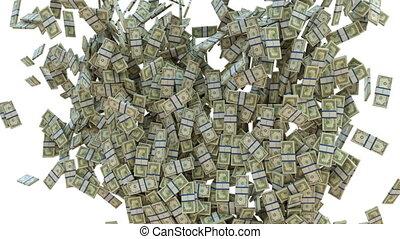 mouvement, wealth:, lent, dollar, espèces