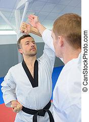 mouvements, judo