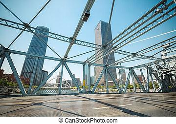 movable bridge closeup