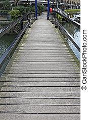 Movable Footbridge
