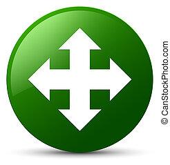 Move icon green round button