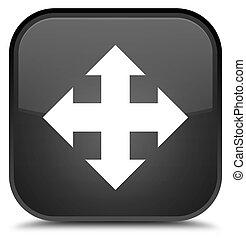 Move icon special black square button