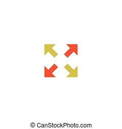 Move Icon Vector