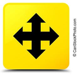 Move icon yellow square button