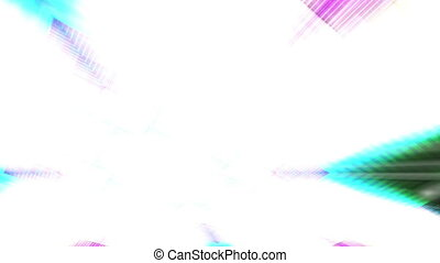 Move mode Light beams VJ looping multicolored geometric...