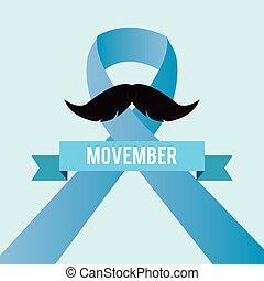 movember, prostate, jour, cancer