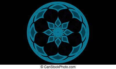 Movement of blue substances