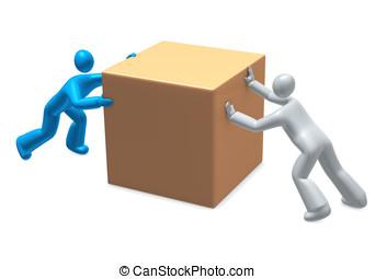 mover, contrario, dirección, -, desacuerdo