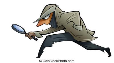 mover furtivamente, espía