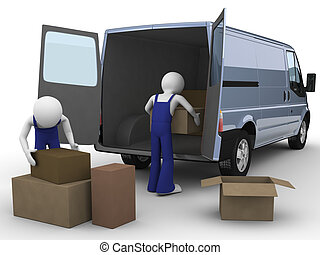 Movers - Men at work series