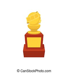Movie award cartoon icon