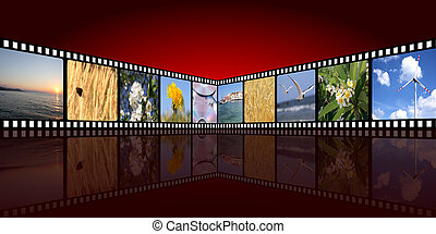 movie background
