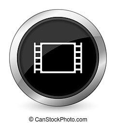 movie black icon
