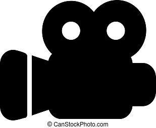 Movie camera icon
