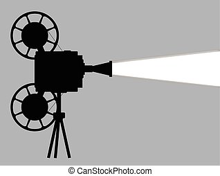 Movie Cine Projector - A mocie cinema ine projector...