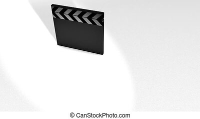 Movie clap animation.