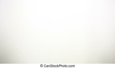 Movie Clapper - A movie clapper on a white background being...