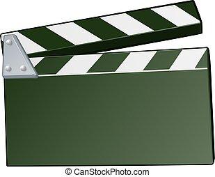 Movie Clapper Board Background