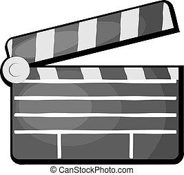 Movie clapper. eps10