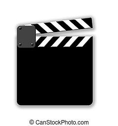 Movie Cut Slate Board