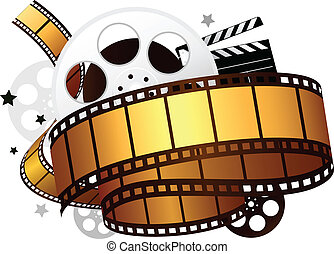 design element for movie theme design
