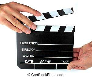 Movie Directors Clap Board